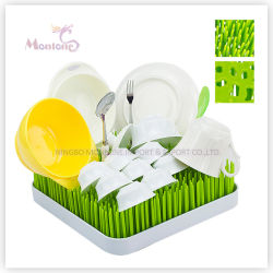 Plastic Round/Square Countertop Baby Bottle Lawn Grass Drying Rack