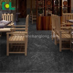 Indoor And Commercial Stone Grain Interlocking PVC Vinyl Floor ISO9001 Changlong Cls 37