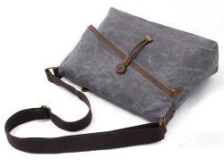 Fashion Design Shoulder Satchel Bag Waterproof Crossbody Canvas Bag (RS-9121)