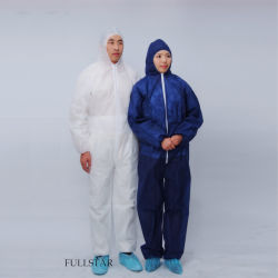 Disposable Single-Use Clothing Non-Woven Coverall