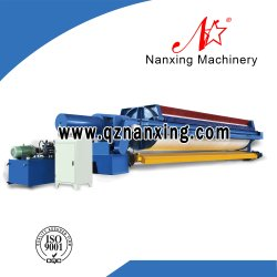 Hydraulic Chamber Sludge Water Filter Press