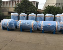 500L 8bar Stainless Steel Air Tank for Compressor