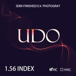 Semifinished 1.56 Single Vision Photochromic Ophtalmic Lentes Hc