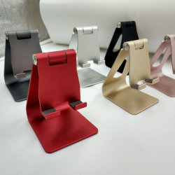 Aluminium Portable And Flexible Lazy Phone Holder Stand For Phone Use