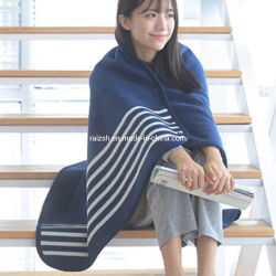 Double Layer Bonded Poncho Cloak Coat Garment Throw Soft Warm