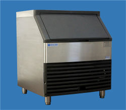 105kg Ice Cube Machine Commercial Kitchen Equipment