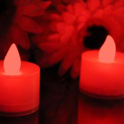 Festival Decorations Flashing Blinky Lights White LED Tea Light Candle