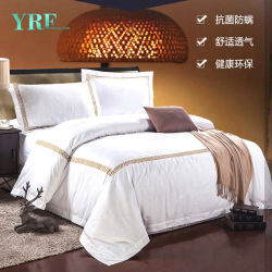 Hotel Supply Cheap Cotton Bedding Set for Hotel Apartment