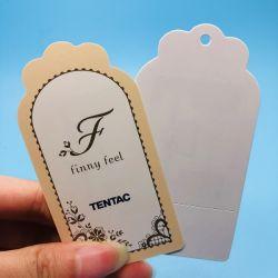 860~960MHz Anti-tearing Strength UHF RFID Name Clothing Hang Tag