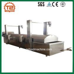 Automatic Food Fryer Machine Continuous Belt Conveyor Frying Machine