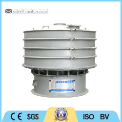 Large Capacity Rotory Ceramics Vibrating Screen Equipment for Slurry