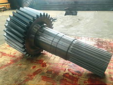 China OEM Made Gear Shaft with Wholesale Price