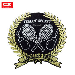 Sportswear Logo Embroidery Emblem for Student T-Shirt