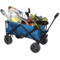 Foldable Sports Wagon Folding Wagon for Camping and Shopping