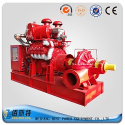 10--300kw Diesel Engine Self Priming Fire Fighting Water Pump