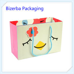 Paper Shopping Bag with Card