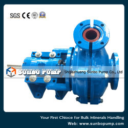 China 2016 Factory Supply Centrifugal Slurry Pump
