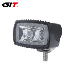 Emark R10/R23 10W 3inch Flood Spot LED Reverse Work Lamp/Light for Auto Car Truck Offroad (GT1012-10W)