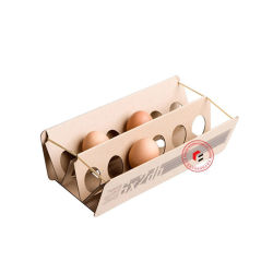 Custom Recycle Corrugated Paper 12 Egg Box/Cartons Packing