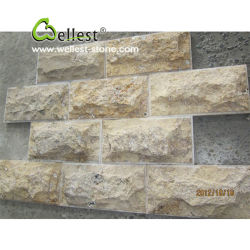 Granite/Slate/Quartzite/Travertine/Limestone Mushroom Wall Stone