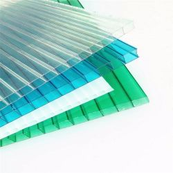 Wholesale Roof Panel Transparent Custom Color Acrylic Sheet Polycarbonate PC Hollow Sheet