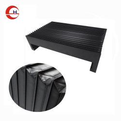 Flexible Nylon Accordion Bellow Dust Cover for Machine Tool