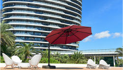 China Manufacture Wholesale Outdoor Multiple Color Sun Umbrella Parasol with Water Tank