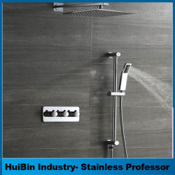 China Wholesale Wall Mounted Brass Tub Faucet Concealed Hidden Shower Set
