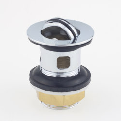 A28 Fatory Wholesale Bathroom Sink Overflow Strainer with Stopper