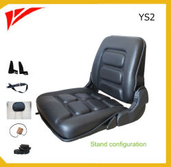 China Factory Black PVC Cover Fold-up Sweeper Seat (YS2)