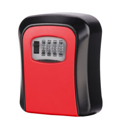 Digit Mounted Storage Safe Box and Key Keeper