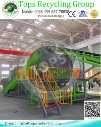 Waste Tire Crusher Machine Production Line