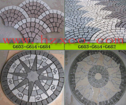 G684/China Black Granite/Black Basalt/Granite Paving Stone/Natural Stone/Granite Cobble/Paver