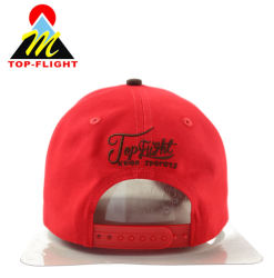 Wholesale Custom Embroidery Red Sports Cotton Hats and Caps