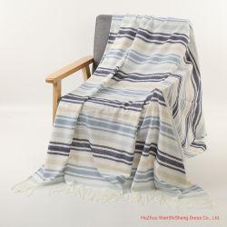 100%Acrylic Oversized Shawl Cape Blanket Thick Winter Tartan Blanket Scarf