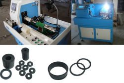Automatic Vacuum Rubber O Ring/ Rubber Oil Seal Cutting Machine