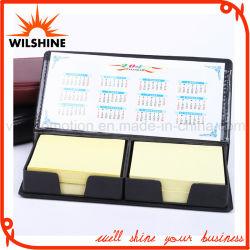 Customized Sticky Notepads with PU Calendar Holder (PN241)
