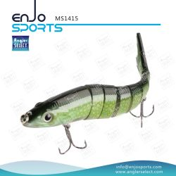 Multi Jointed Fishing Life-Like Lure Bass Bait Swimbait Shallow Hard Lure Fishing Gear