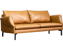 Modern Design 3 Seater Leather Sofa for Home Furniture (HC-X10)