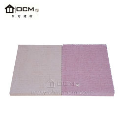 New Construction Material Fireproof MGO Sulfate Board Magnesium Oxide Wall Panel