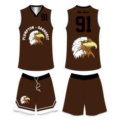 Sublimation Man Sportswear Apparel Custom Design Basketball Jersey Uniforms