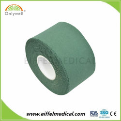 Colorful Healthcare Waterproof Cotton Fabric Sports Adhesive Tape for Athlete