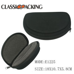 b4a650793ce Customized Sports Style High Quality Microfiber EVA Glasses Case with Nylon  Zipper with Foam Inside