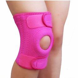 Breathable Neoprene Lycra Elastic Knee Sports Support Sleeve