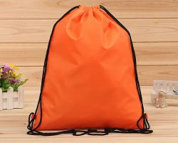 Promotional High Quality Cheap Sports Polyester Drawstring Bag