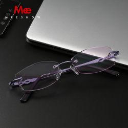 df1e98d989 Design Eyeglasses Women Diamond Cutting Lens Reading Glasses Rhinestone  Frame Gradient Prescription Glasses 1.61 Lens