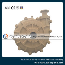 Made in China Manufacture High Head Centrifugal Slurry Pump/Trash Pump