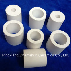 92% 95% Alumina Ceramic Tube with Excellent Abrasion Resistant