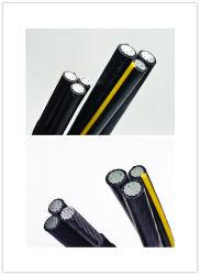 Overhead Aluminum Aerial Bundle Cable, Duplex/Triplex Service Drop Cable, Aluminum Cable