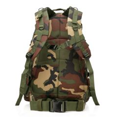 Hunting Sports Military 3D Backpack Shoulder Bag Woodland Camo